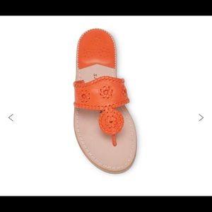 Jack Rogers Orange Classic Sandals